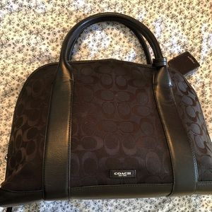 Coach Bleeker Signature Preston Satchel